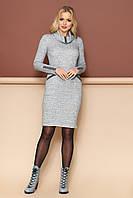 "Платье ""Леди"" (меланж)(размер S,M,L,XL)"