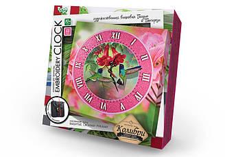Часы Вышивка гладью и бисером Danko Toys (EC-01-04)