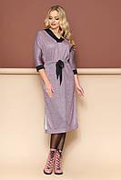 "Платье ""Спейс"" (бордо)(размер 48-52)"