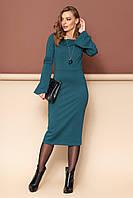 """Сукня """"L-143 (зелений)(розміри 44-50)"""
