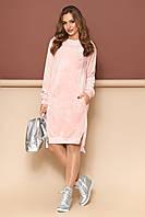 """Платье """"L-134"""" (розовый)(размеры 44-54), фото 1"""