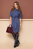 """Платье """"L-139"""" (джинс)(размеры 44-54), фото 1"""