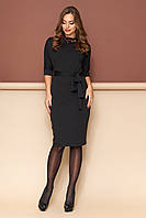 """Платье """"L-139"""" (черный)(размеры 44-54)"""