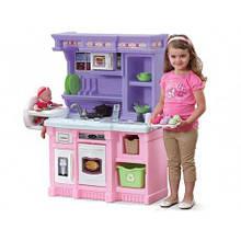 Кухня игровая со звуком Pink Step2