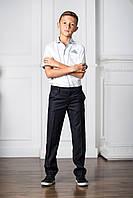 Стильная Школьная Рубашка Для Мальчиков Подростков Белого Цвета В Классическом Дизайне Blueland Турция