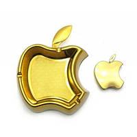 Подарочный набор Золотое яблоко, пепельница с зажигалкой(19х16.5х4.5)