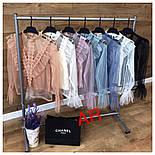Женская блуза сетка и декор (7 цветов), фото 5