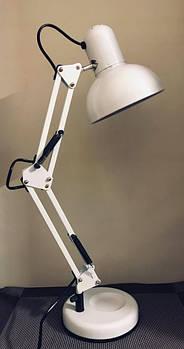 Настольная лампа белая на подставке , шт