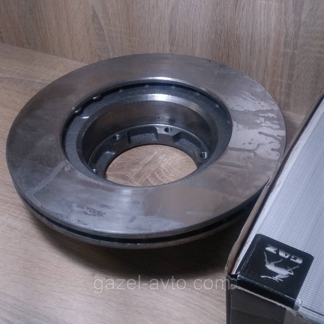 Диск тормозной Газель передний 104 мм (пр-во ГАЗ)