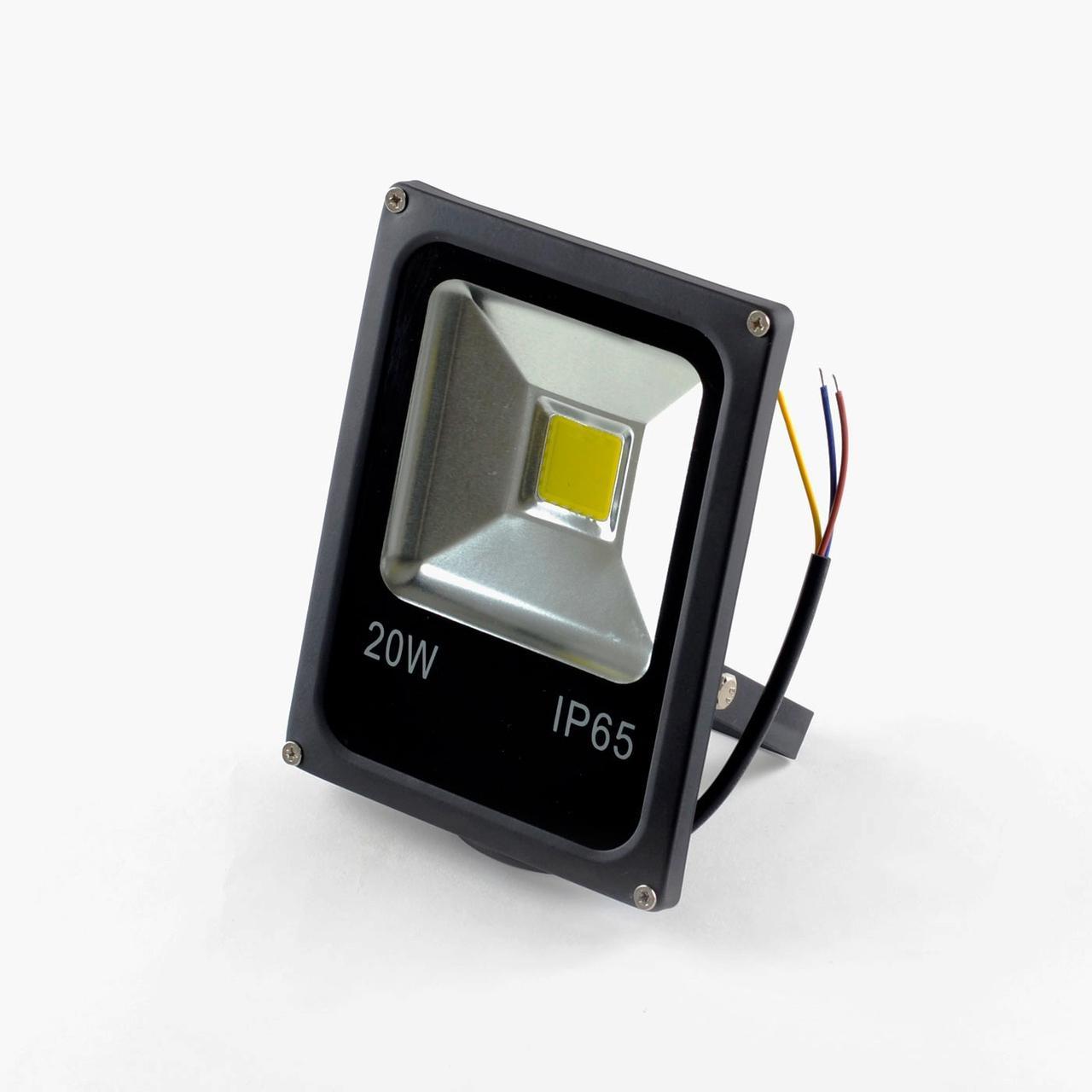 Прожектор светодиодный LED, ldf 20W 12в