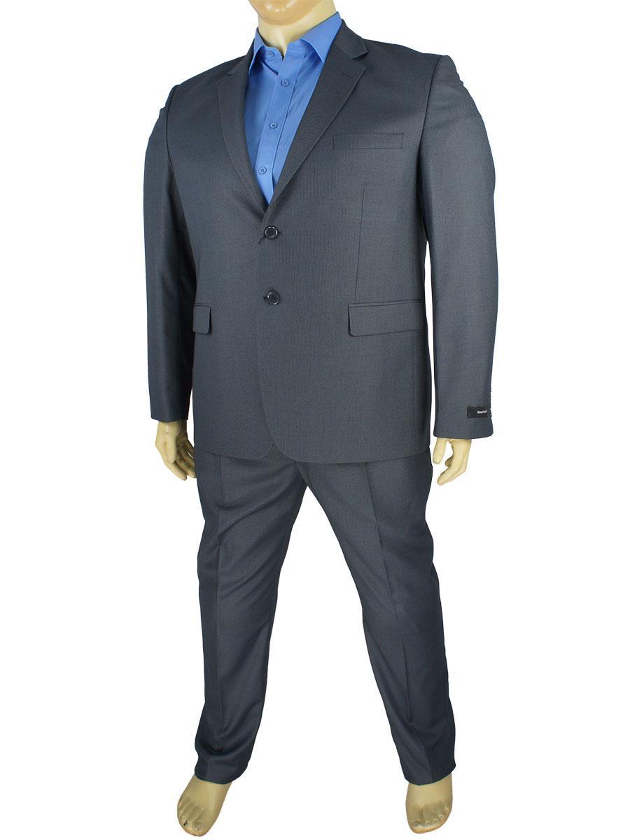 Стильний класичний чоловічий костюм Daniel Perry C96 C: 3 antracit B у великому розмірі