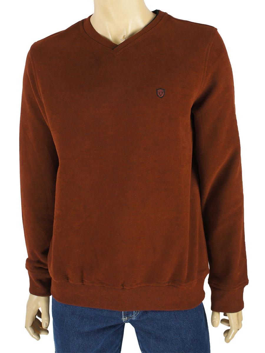 Стильний чоловічий светр Better Life 936 H kiremit