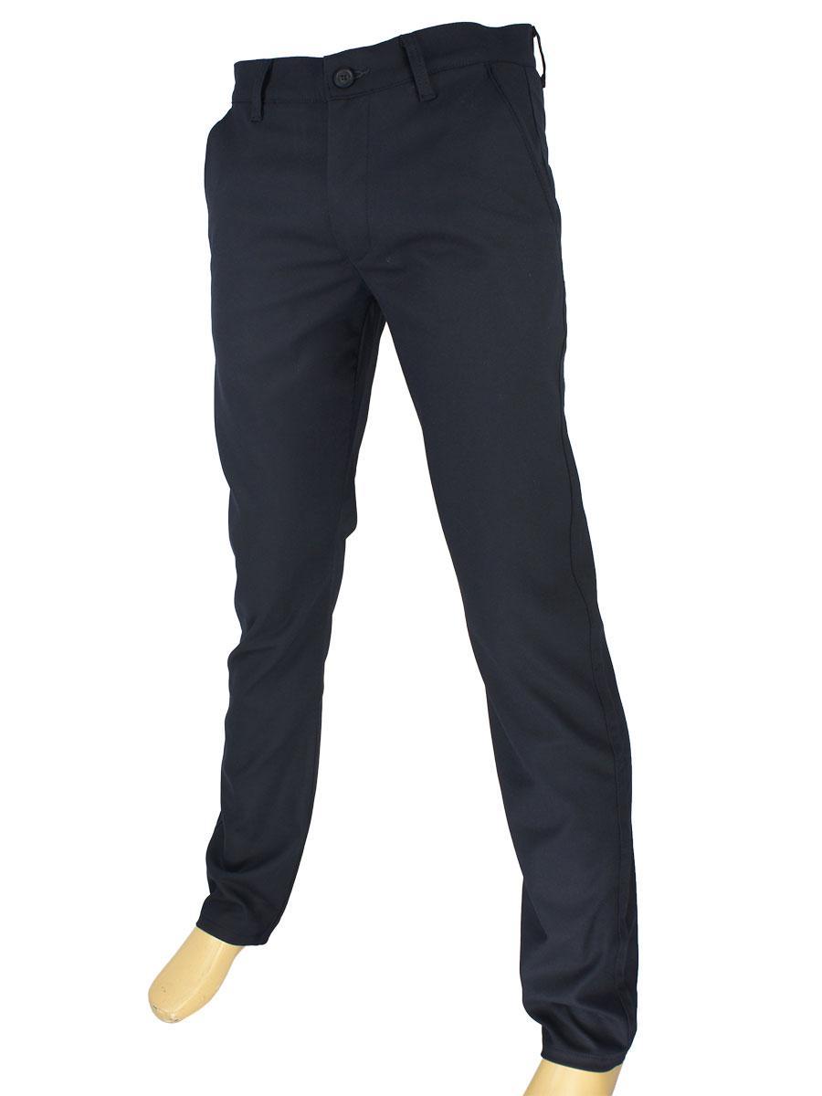 Чоловічі джинси Cen-cor CNC-1 288 D-4158 C:01 темно-синього кольору