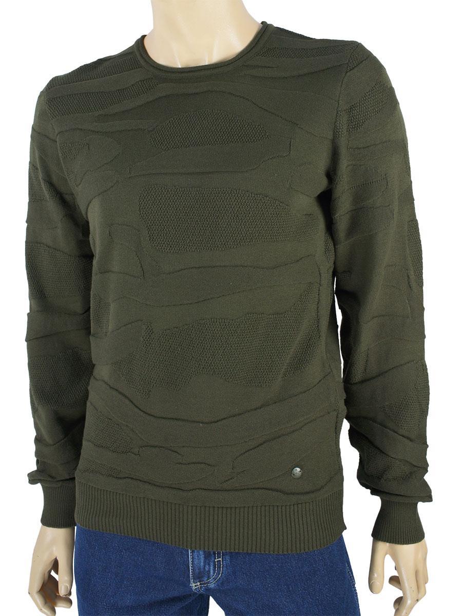 Оригінальний чоловічий светр NCS M: 3192 Haki