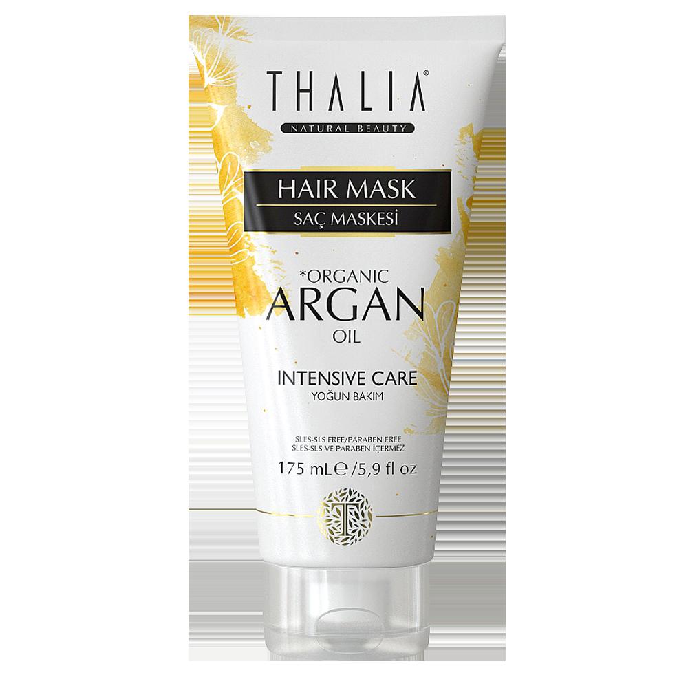 Маска для волос увлажняющая с аргановым маслом THALIA, 175 мл