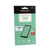 Защитная пленка MyScreen Lite Crystal для Lenovo P70 (глянцевая) (Леново П70, Р70, П 70, Р 70)