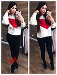 """Женский стильный свитер """"Сердце"""" (3 цвета), фото 4"""