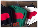 """Женский стильный свитер """"Сердце"""" (3 цвета), фото 5"""