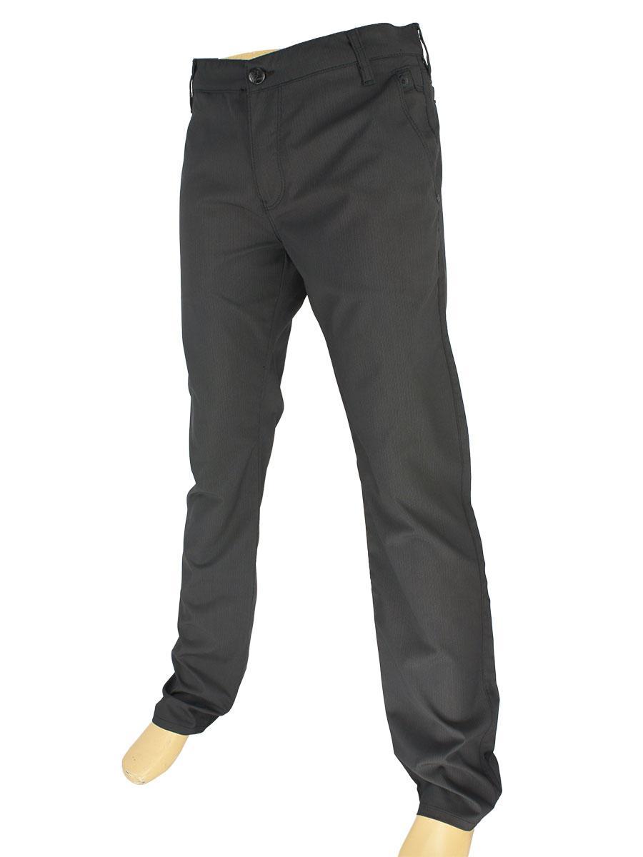 Чорні чоловічі брючні джинси Cen-cor CNC-3057 Black
