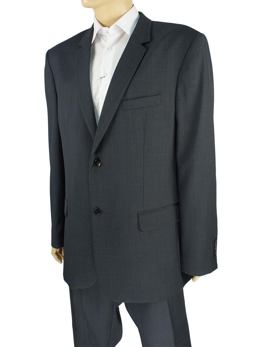 Чоловічий класичний костюм Legenda Class 40#1 темно-сірого кольору