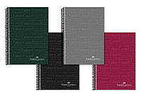 Блокнот / тетрадь в линию Faber-Castell Classic формат A4 на спирали, 80 листов, 400115