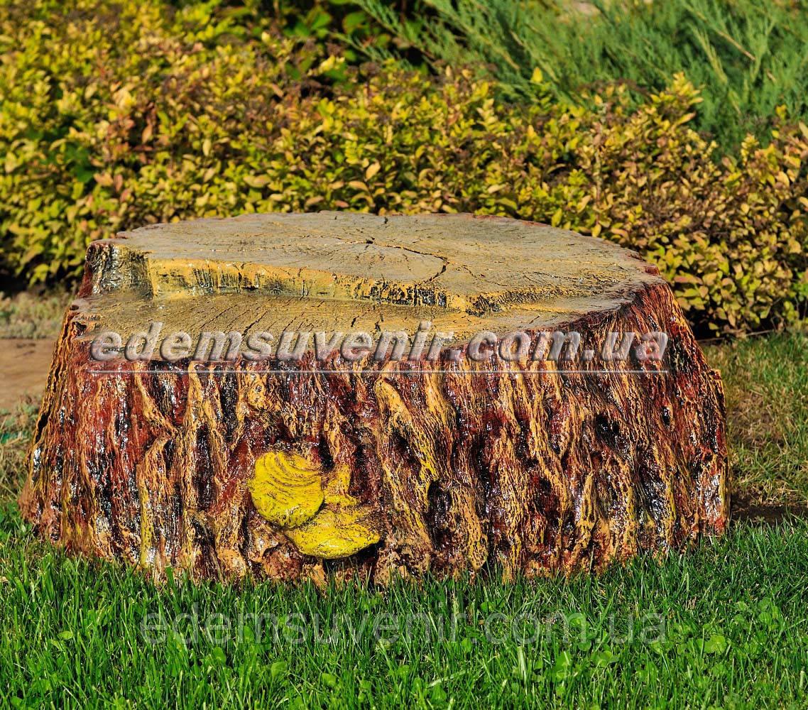 Набивная садовая фигура Пень крышка для люка