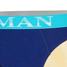Стильні комбіновані чоловічі плавки Lama M-834 SD, фото 3