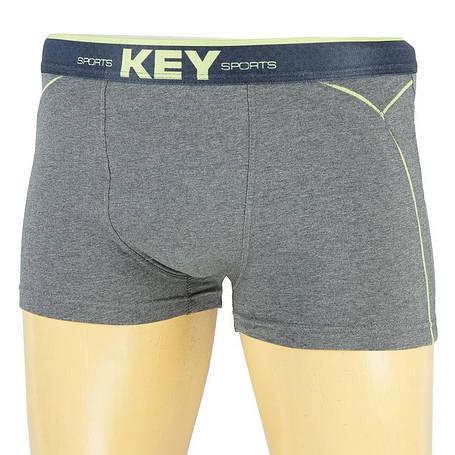 Польські боксерки для чоловіків Key MXH 209 A8 ME в сірому кольорі, фото 2