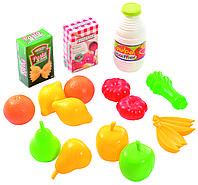 Набор Овощи и фрукты в сетке Ecoiffier 951