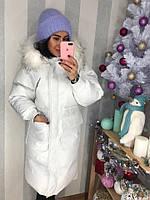 Стильное и модное зимнее пальто из прочного коттона