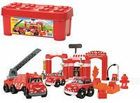 Конструктор Abrick пожарная бригада Ecoiffier 1396