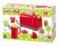 Игровой набор для завтрака Тостер с аксессуарами Ecoiffier 1231