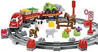 Конструктор Сельская железная дорога с фигурками животных Ecoiffier 3068