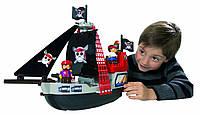 Конструктор Abrick Пиратский корабль 29 дет с фигурками пиратов Ecoiffier 3130