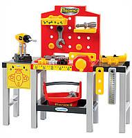 Игровой набор Раскладная мастерская с инструментами 32 аксессуара Ecoiffier 2350