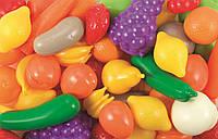 Большой набор овощей и фруктов Ecoiffier 2655