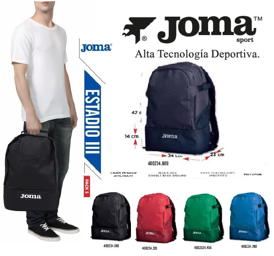 Рюкзак cпортивный Joma ESTADIO III