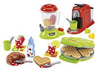 Кухонная техника Chef комплект с посудой и продуктами Ecoiffier 2624