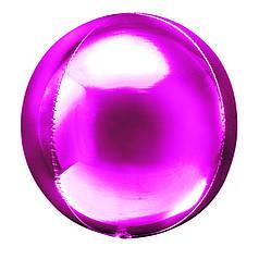 "Фол шар 20"" металлик Pink фуксия сфера 51см (Китай)"