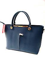 """Женская сумка, качественная """"FASHION"""", синяя, стильная, 059245"""