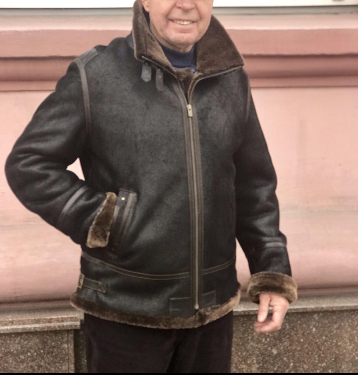 "Дубленка ""пилот"" мужская Pandas"
