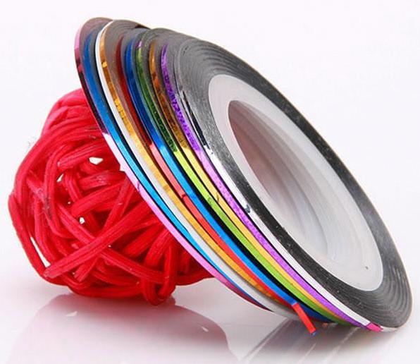 Цветная нить для декора 10шт YRE \ 72