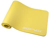 Коврик для тренировок SportVida NBR 1.5 см Yellow