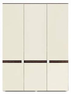 Шафа (шкаф) розпашна трьохдверна з ДСП/МДФ з фасадом з масиву бука Tre 11 Szynaka
