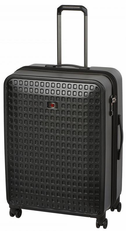 addffea69c18 Большой пластиковый чемодан Wenger Matrix 604358, 110л. черный - SUPERSUMKA  интернет магазин в Киеве