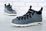 Мужские ботинки Native Fitzsimmons (Нейтив) серые, фото 3