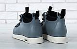 Мужские ботинки Native Fitzsimmons (Нейтив) серые, фото 5