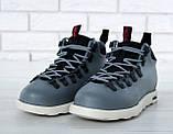 Мужские ботинки Native Fitzsimmons (Нейтив) серые, фото 6