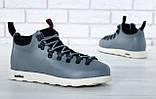 Мужские ботинки Native Fitzsimmons (Нейтив) серые, фото 7