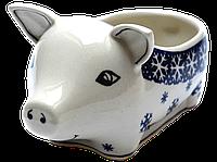 Керамическая форма Свинка для соусов и дипов W, фото 1